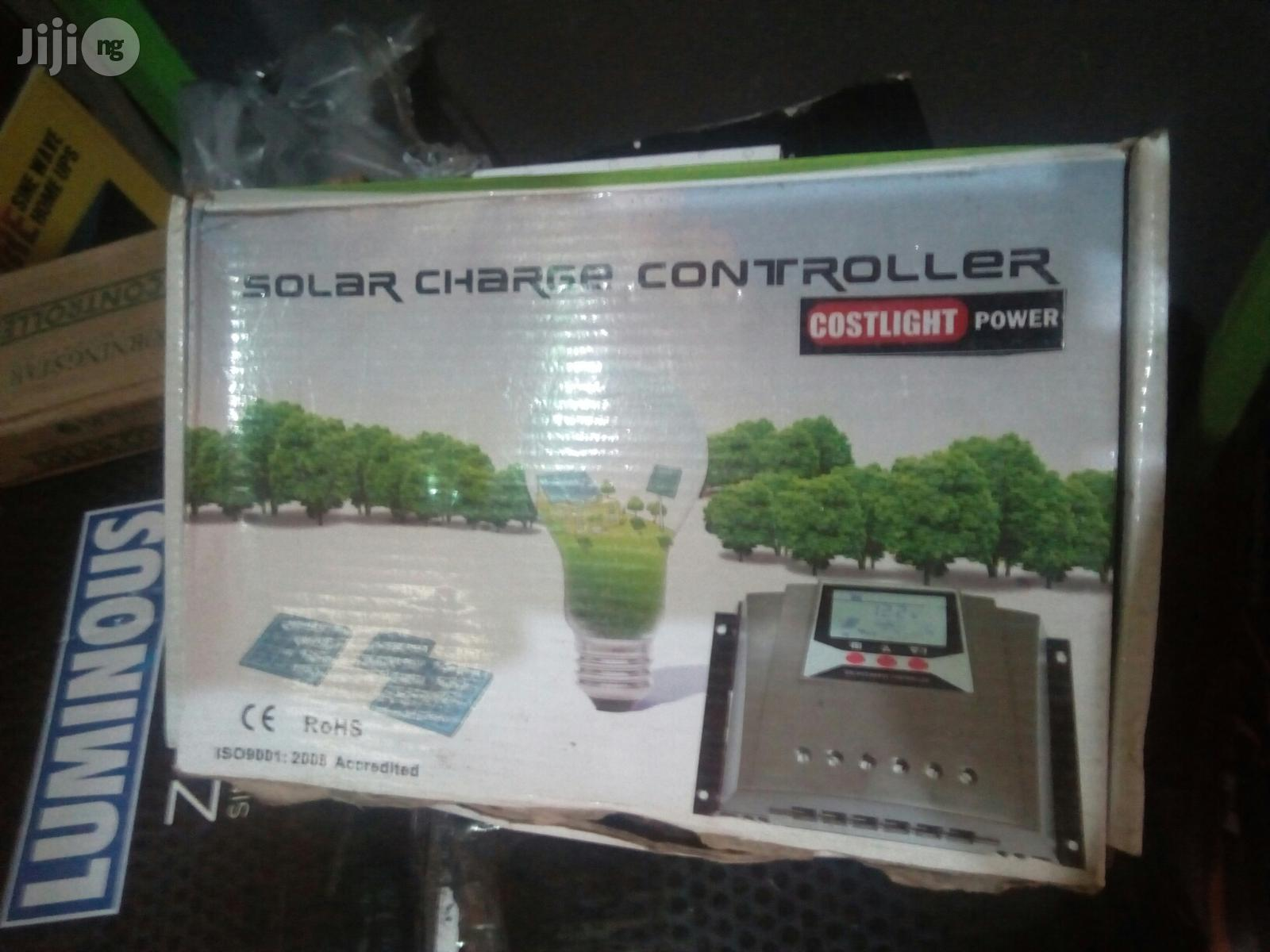 Archive: 60ah Automatic Solar Charge Controller