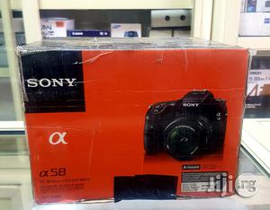 Sony SLT-A58K DSLR Camera With 18-55mm Zoom Lens | Photo & Video Cameras for sale in Lagos State, Ikeja