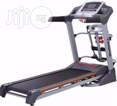 2.5hp Treadmill With Massager, Mp3 and Incline