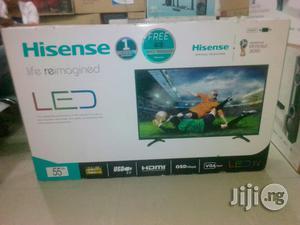 Hisense 55 Inch Led TV | TV & DVD Equipment for sale in Lagos State, Ojo