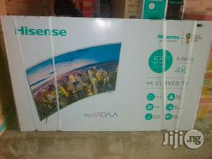 Hisense 55 Inch Curved Smart Led Tv   TV & DVD Equipment for sale in Lagos State, Ojo