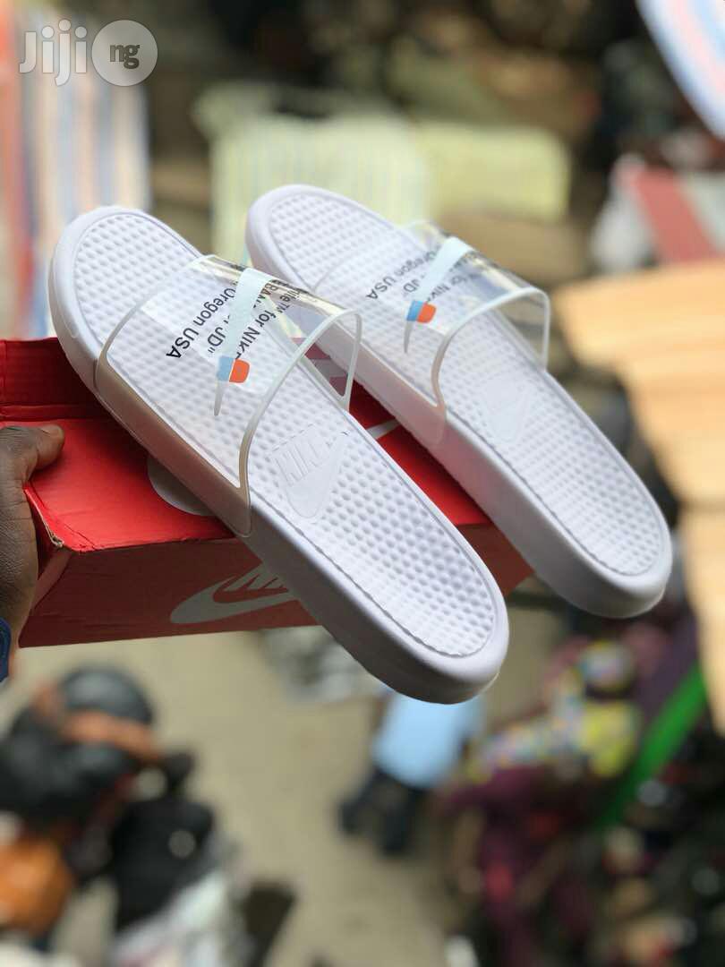 Original Nike Off-White Slippers