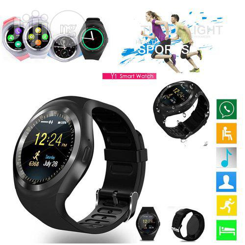 3 Days PROMO!!! Smart Watch Phone Wrist Watch Black | Smart Watches & Trackers for sale in Lagos State, Nigeria