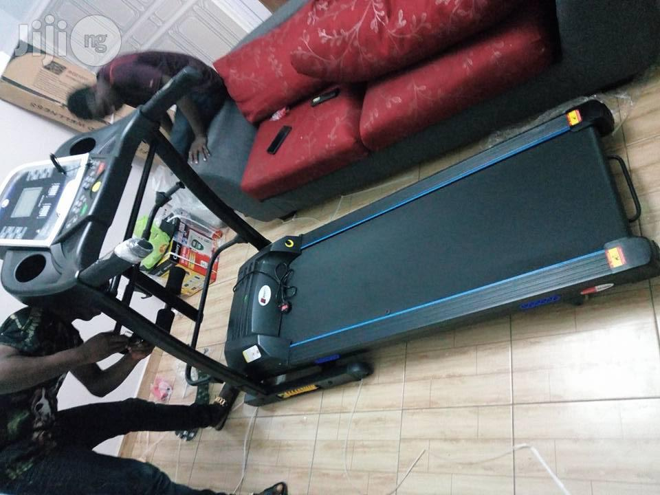 Archive: Bodyfit Newly Improved Bodyfit 2.5hp Treadmill With Massager,Incline Mp3 And Twister