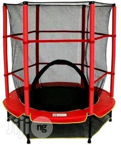 1 to 5yrs Children Trampoline Set With Corvered Net