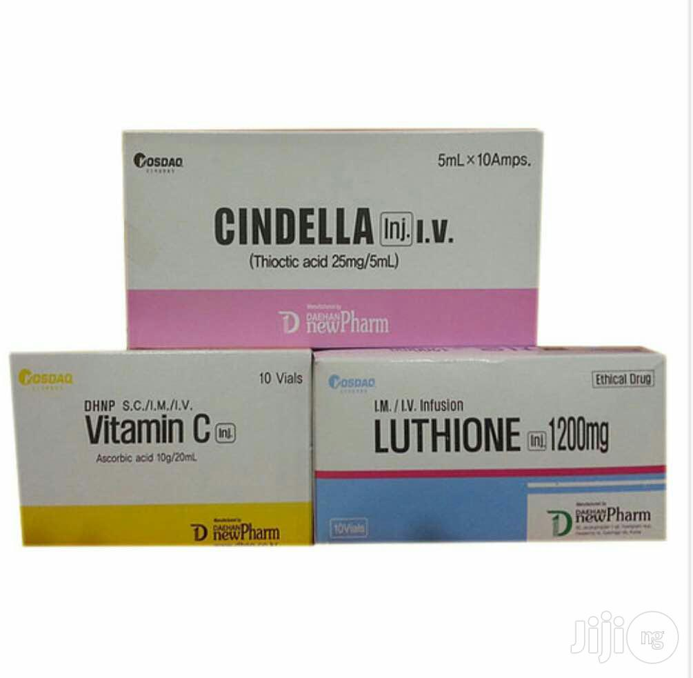 Cindella Whitening Injection | Skin Care for sale in Central Business Dis, Abuja (FCT) State, Nigeria