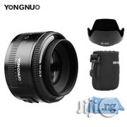 YONGNUO Yn50mm F1.8 Lens Large Aperture Auto Focus Lens For Canon EF Mount EOS Camera | Accessories & Supplies for Electronics for sale in Lagos State, Lagos Island