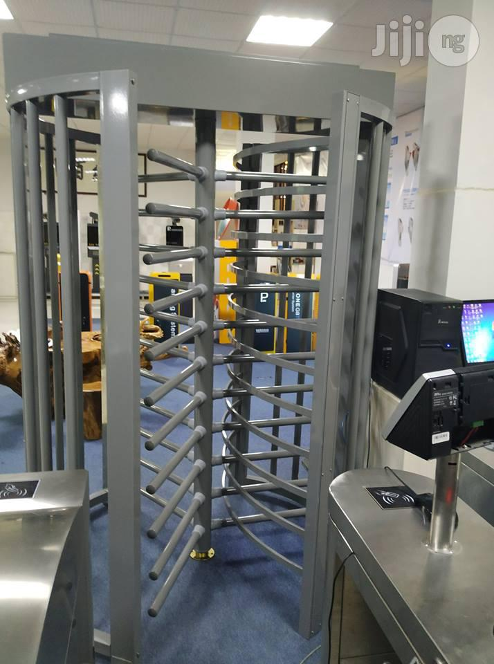 Full Height Turnstile Gate With Access Control System