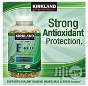 Kirkland Signature Vitamin E 400 IU, 500 Softgels | Vitamins & Supplements for sale in Lagos State