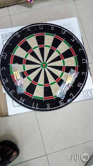 Bristle Dart Board Good Quality   Sports Equipment for sale in Lagos State, Ikeja