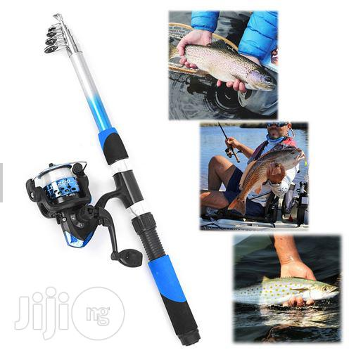 Lixada Fishing Set - Rod + Reel And Assessories | Camping Gear for sale in Ikeja, Lagos State, Nigeria