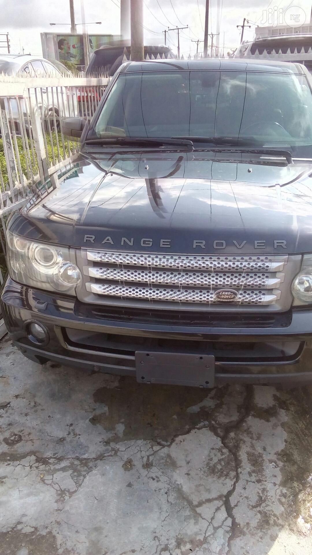 Range Rover Sport 2009 Black