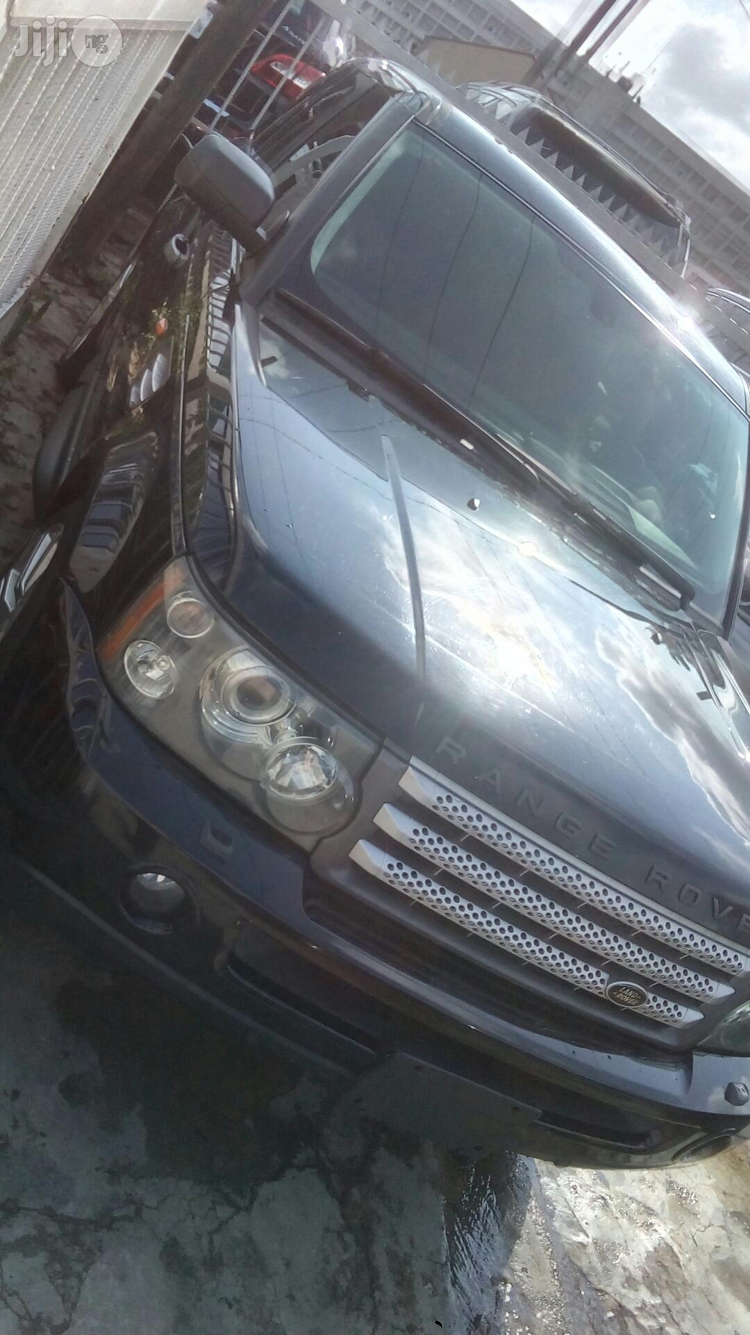 Range Rover Sport 2009 Black | Cars for sale in Ikeja, Lagos State, Nigeria