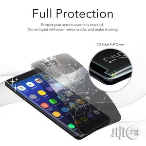 Nano Liquid Full Glue Tempered Glass With UV Light For Samsung Galaxy Note 8 | Accessories for Mobile Phones & Tablets for sale in Lagos State, Ikeja