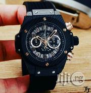 Hublot Geneve Rubber Strap Watch | Watches for sale in Lagos State, Ilupeju