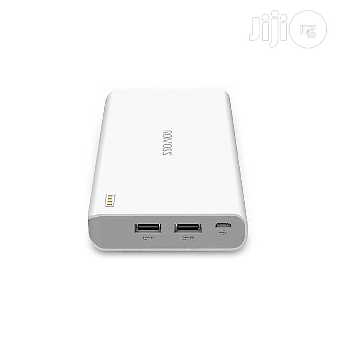 Romoss Sense 6 Powerbank - 20,000mah   Accessories for Mobile Phones & Tablets for sale in Gaduwa, Abuja (FCT) State, Nigeria