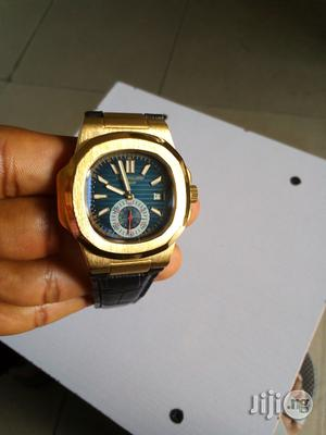 Partek Philippe Leather Watch | Watches for sale in Rivers State, Port-Harcourt