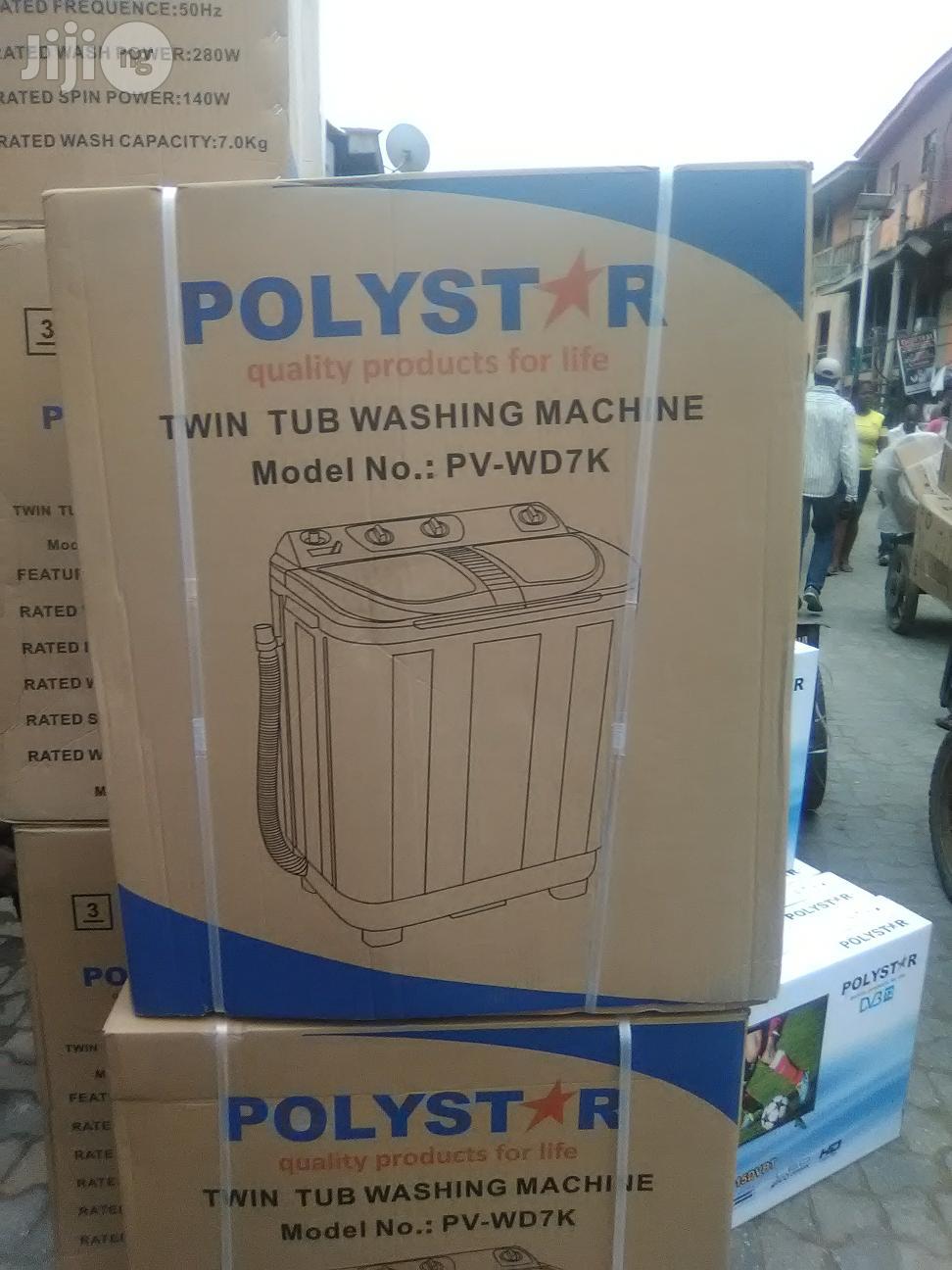 Polystar Twin Tub Washing Machine