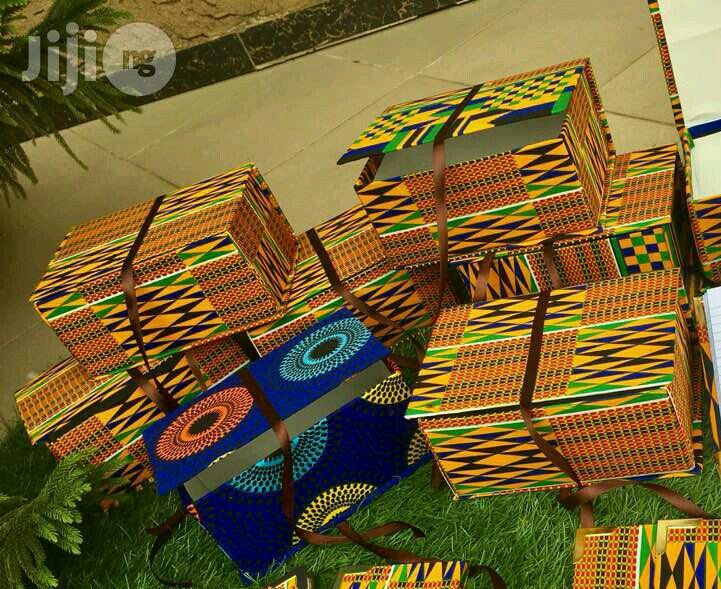 Archive: Promo Ankara Gift Box (5 by 7.5inches, 3.5inches High)