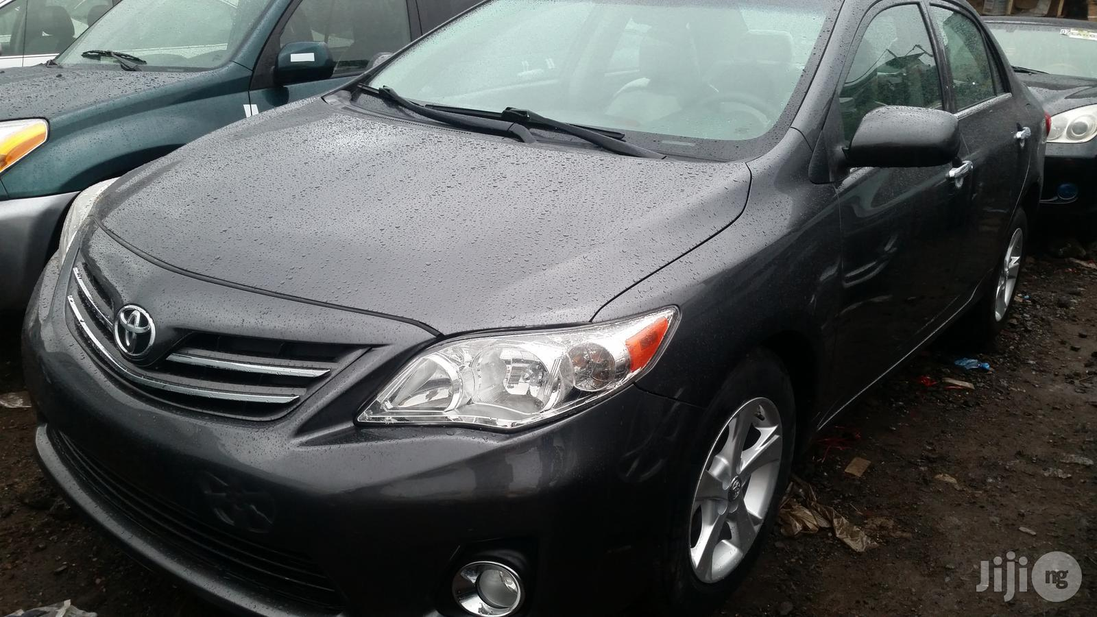 Archive Tokunbo Toyota Corolla 2012 Gray In Lagos State Cars Obj Automobile Gmi Jiji Ng