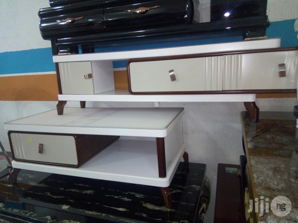 Quality TV Stand And Center Table To March