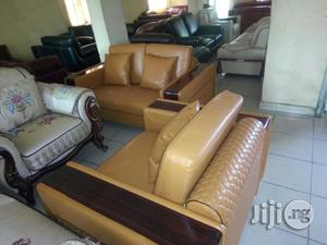 Seven Seaters Imported Sofas Chairs Quality Leather   Furniture for sale in Lagos State