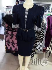 Afrodit Peplum Gown From Turkey | Clothing for sale in Lagos State, Ifako-Ijaiye