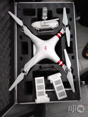 Used DJI Phantom 3 Standard Drone With One Extra Battery & Hard Case   Photo & Video Cameras for sale in Lagos State, Ikeja