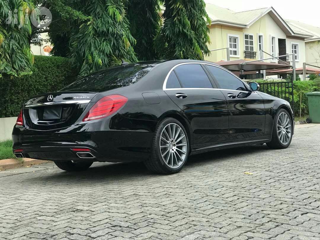 Mercedes-Benz S550 Maybach 2015 Black | Cars for sale in Ikeja, Lagos State, Nigeria