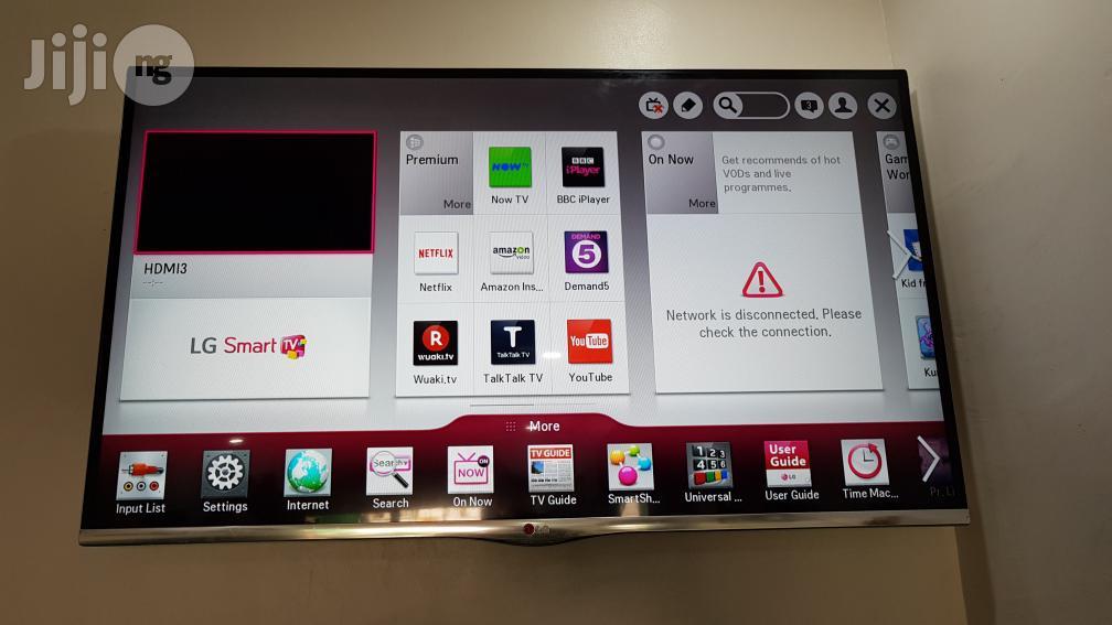 42 Inches LG Smart Borderless 3D Full HD LED TV   TV & DVD Equipment for sale in Ojo, Lagos State, Nigeria