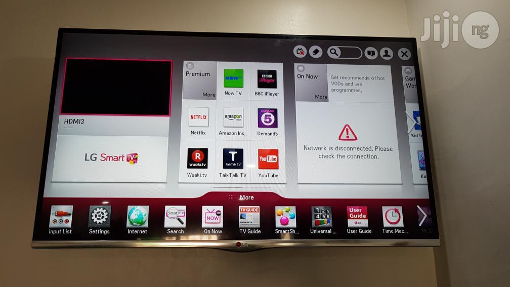 LG 42 Inches Smart Borderless 3D Full HD LED TV   TV & DVD Equipment for sale in Ojo, Lagos State, Nigeria