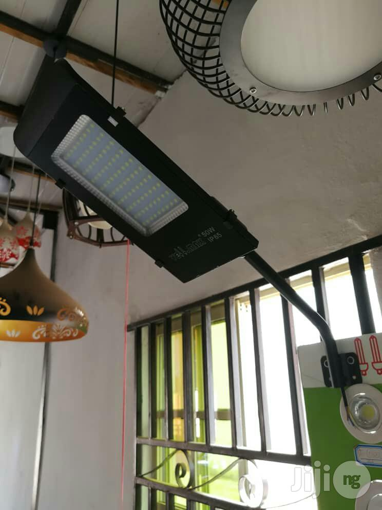 Original LED Street Lights & Lamps With Poles. | Garden for sale in Ojo, Lagos State, Nigeria