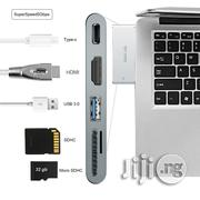 "Multi Usb Type C 3.0 Hub Port Adapter For Macbook Pro 13"" 15"" 
