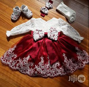Baby Girl Christening/ Dedication Dress | Children's Clothing for sale in Lagos State, Lekki