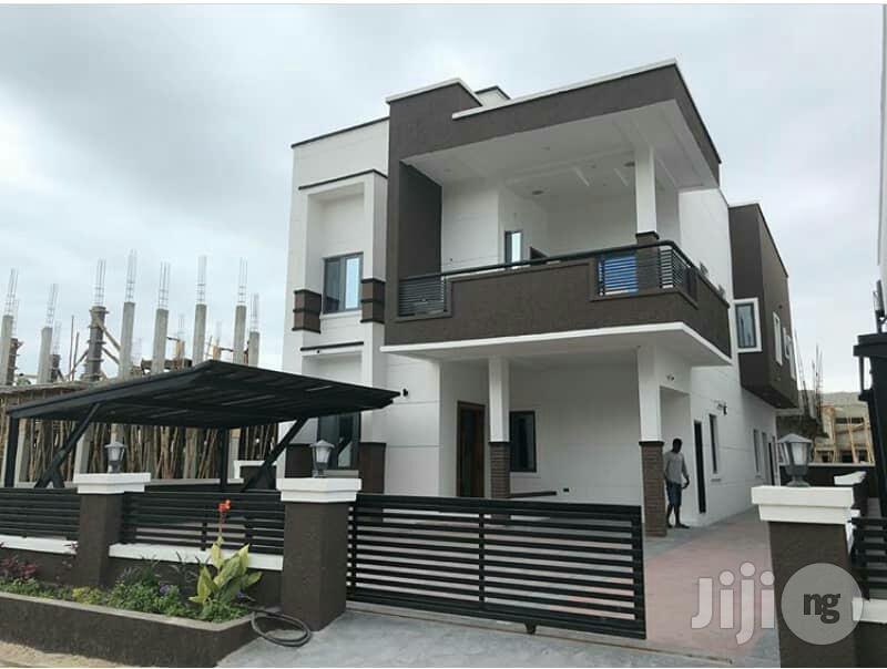 5 Bedroom Fully Detached Duplex With A Bq At Megamound Estate, Lekki