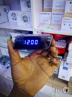 Spy Camera Clock Wifi Hidden Camera HD Mini Small Wireless Camera | Security & Surveillance for sale in Lagos State, Ikeja