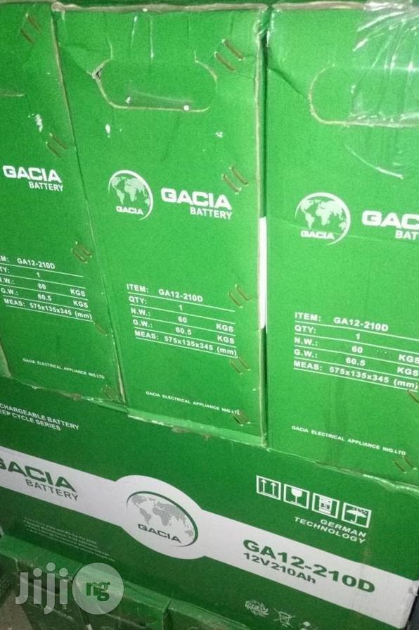 Gacia 250ah/12v Deep Cycle Battery