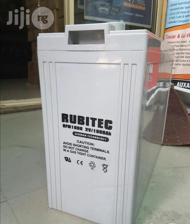 Rubitech 200AH/2V Slim F.A.T Battery