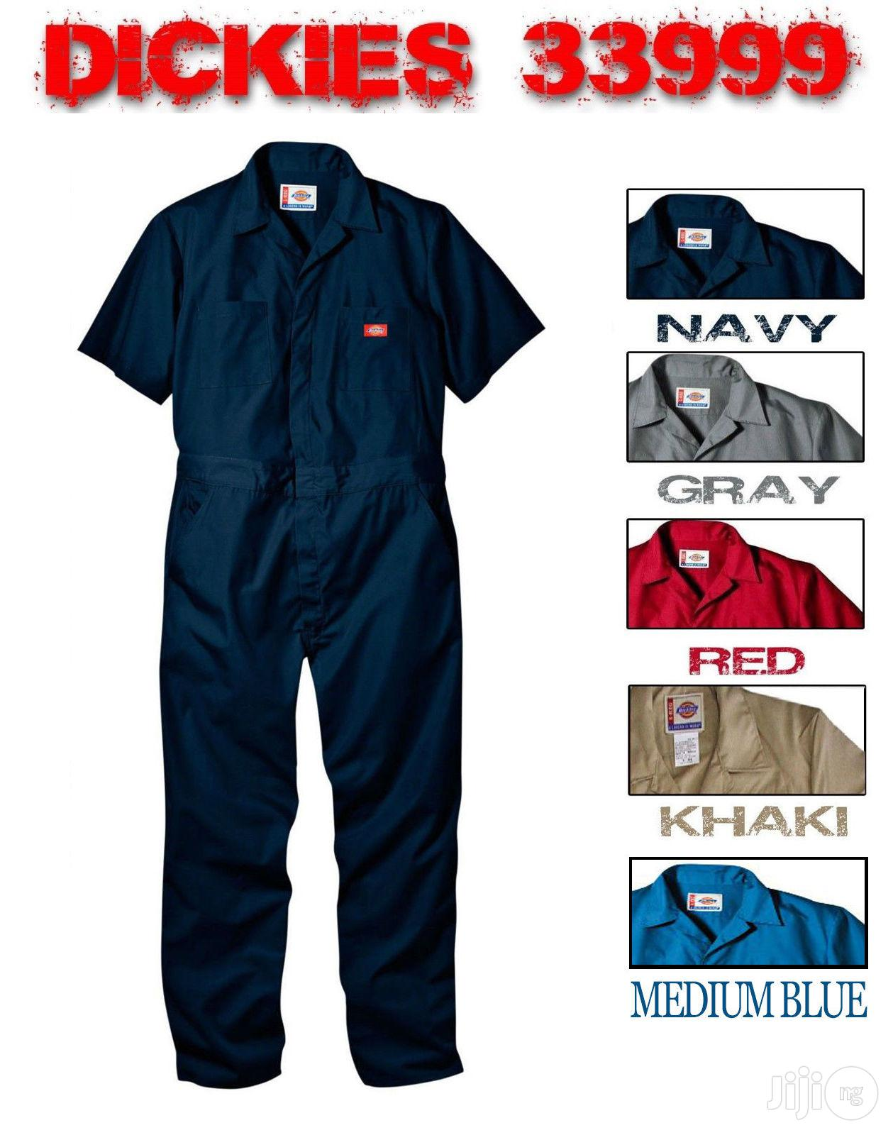 Dickies Short Sleeve Cover All