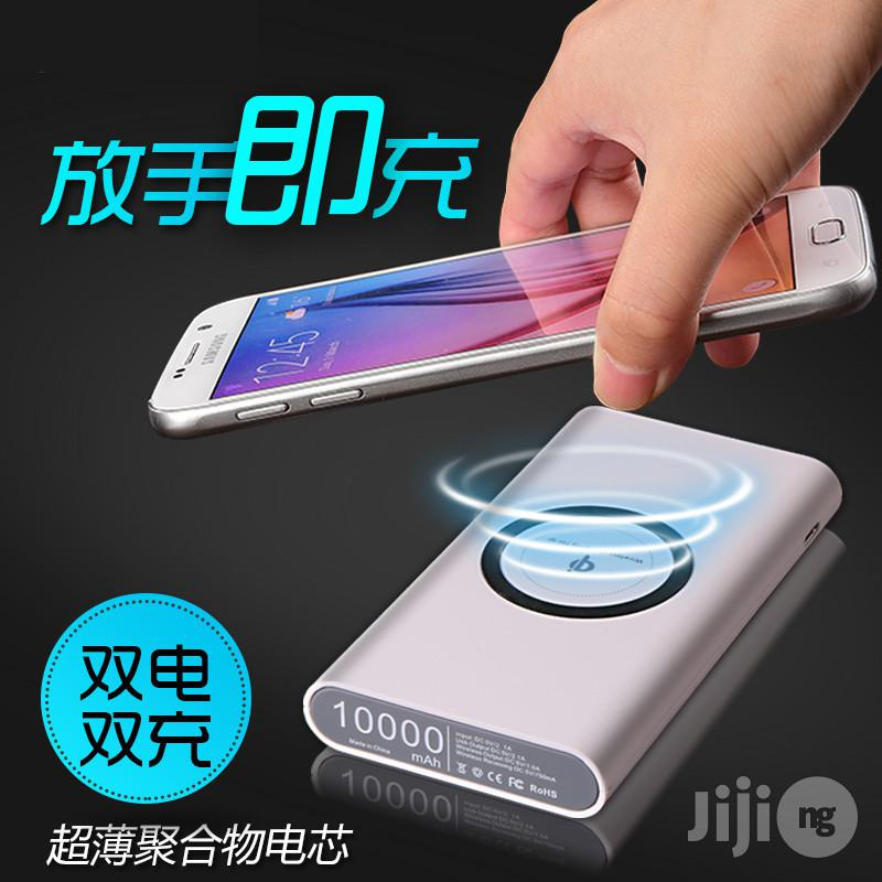 Smart Wireless Portable Powerbank