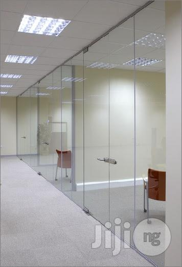 Office Partition With Glass | Building & Trades Services for sale in Lekki, Lagos State, Nigeria