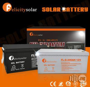 Felicity 200ah/12v Deep Cycle Battery   Solar Energy for sale in Lagos State, Ikeja