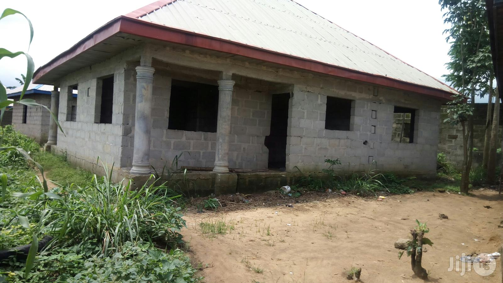 Well Planned Two Bedroom Flat(65% Completed) At Agbeta, Onne