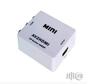 MINI AV to HDMI Converter Box | Accessories & Supplies for Electronics for sale in Lagos State, Ikeja