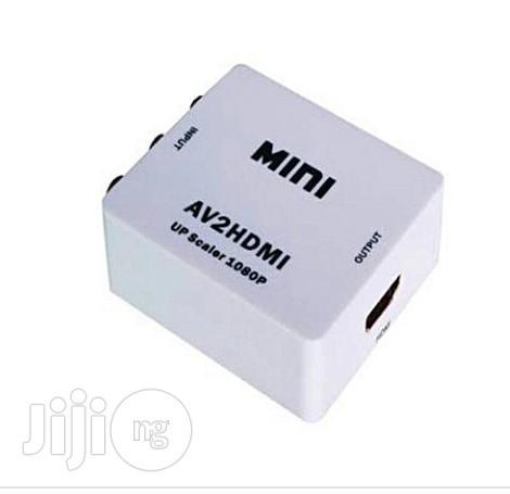 MINI AV to HDMI Converter Box