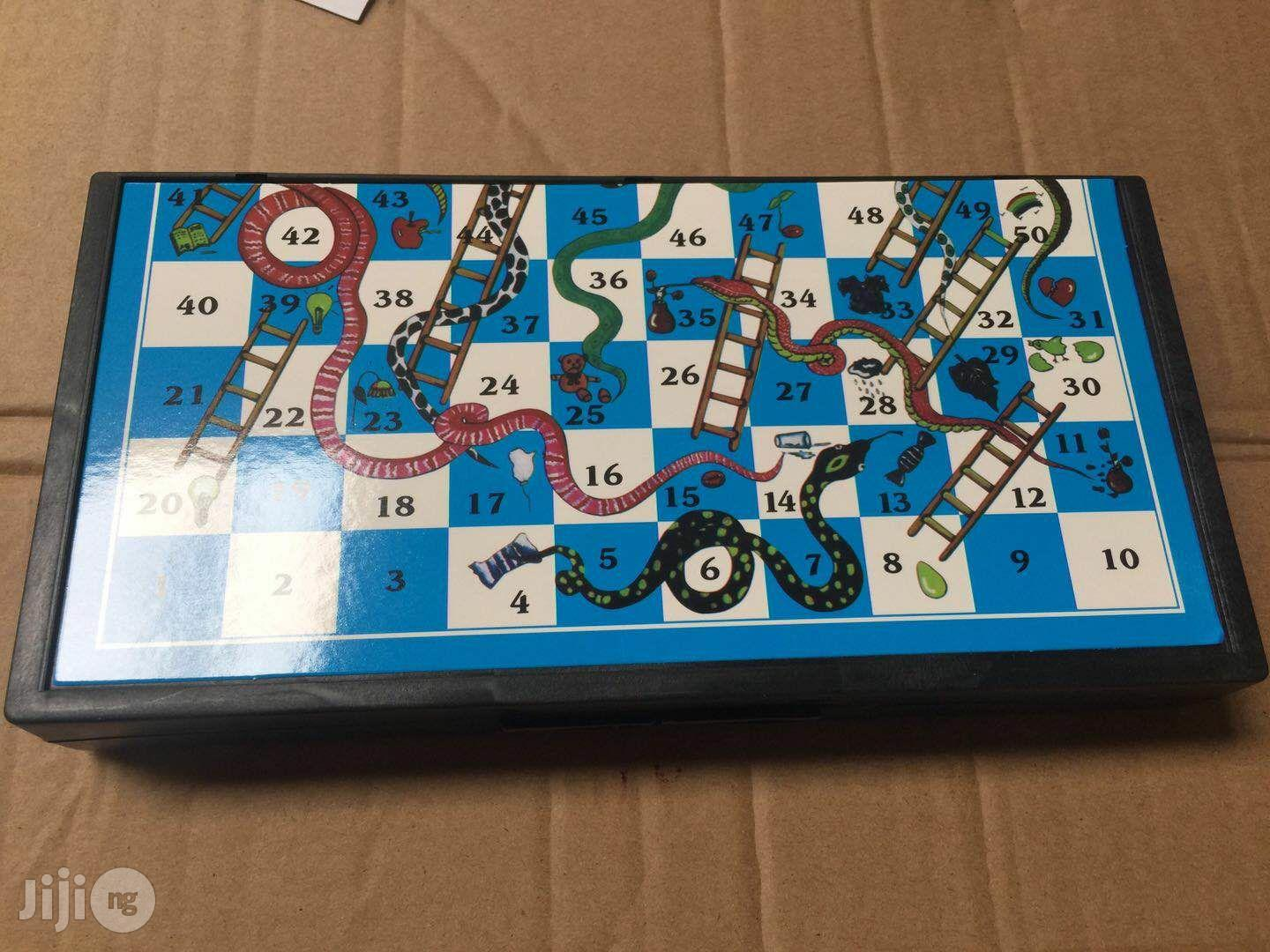 Backgammon Snake And Ladder Game   Books & Games for sale in Oshodi-Isolo, Lagos State, Nigeria