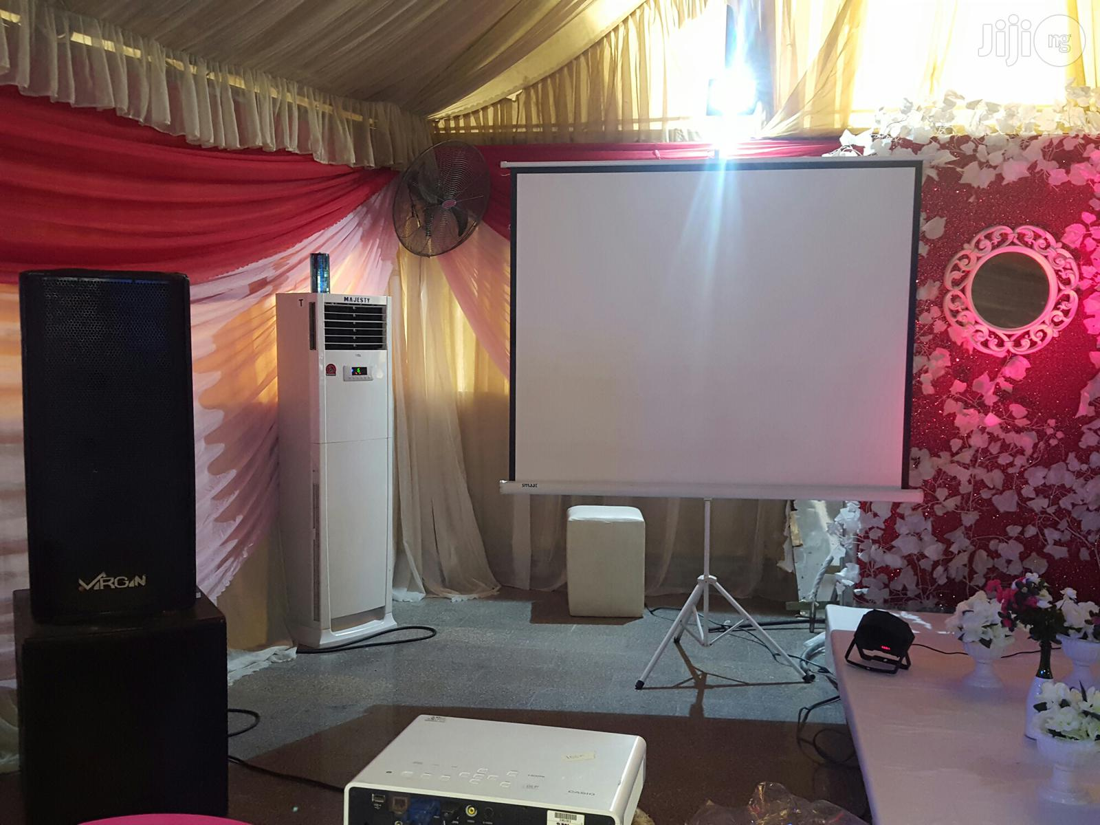 Projector For Birthday Slide | TV & DVD Equipment for sale in Lagos State, Nigeria