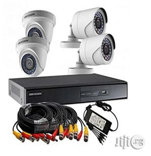Combo Pack Turbo HD 1 Megapixel 720p 4ch CCTV Camera Kit | Security & Surveillance for sale in Lagos State, Ikeja