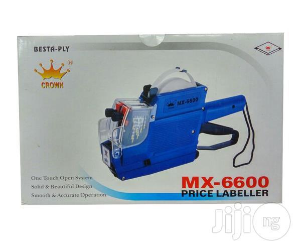 Besta-ply Crown Mx6600 Price Labeller
