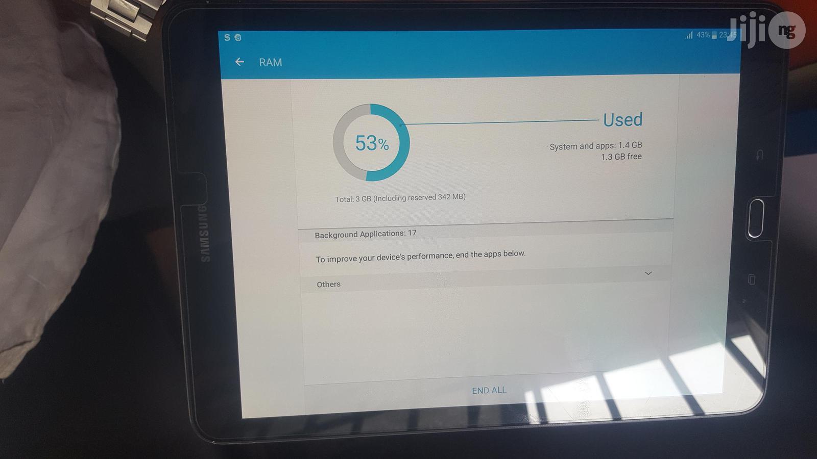 Samsung Galaxy Tab S2 BLACK 32GB   Tablets for sale in Ifako-Ijaiye, Lagos State, Nigeria